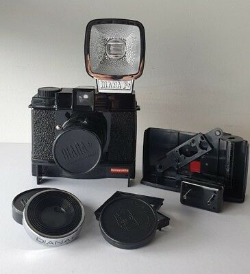 Instant Diana F - Instant Camera / Lomography / Works with Fuji Instax