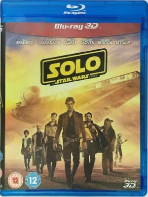 Solo A Star Wars Story 3D Blu-ray Region Free Best Offer