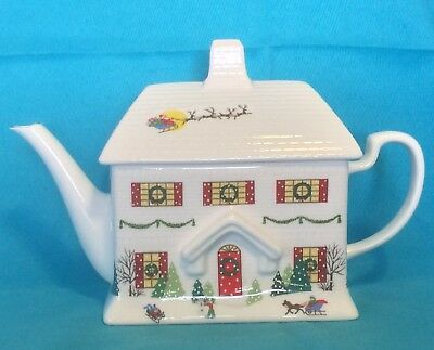 Lenox - Sleighride Teapot - House Debut Collection - Just Beautiful! New W Tags!