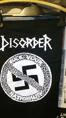 "Disorder Print/backpatch/cloth. 12""x17(20cm x 27 approx). f+%# Your Nationality."