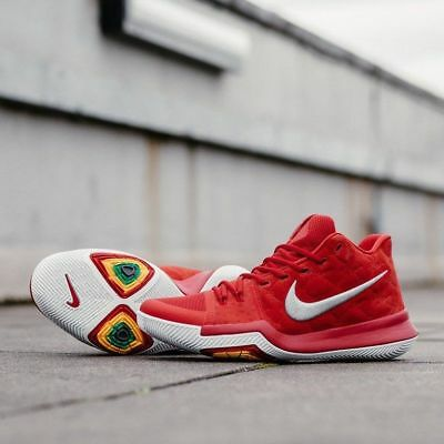 Authentic Nike Kyrie 3 Size 10.5 Men Basketball Shoes 852395 601