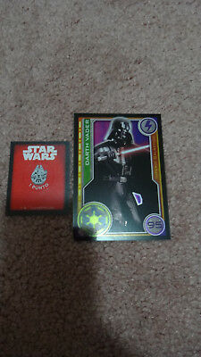 Carrefour Spain Star Wars Collector Trading Card Darth Vader #95