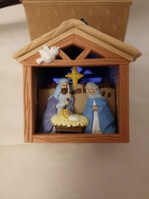 Avon The First Christmas Light-Up Nativity Holy Christmas Ornament New