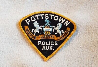 Pottstown Pennsylvania Police Auxiliary Shoulder Patch