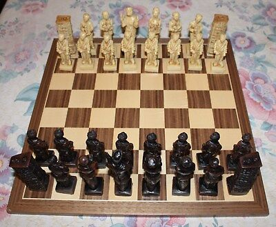 Chess By Gino Ferrari The Infirmary Set With Solid Wooden Board Eur 72 48 Picclick Fr