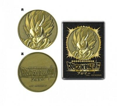 New Dragon Ball Super Movie Broly Gogeta Medal From Japan F / S