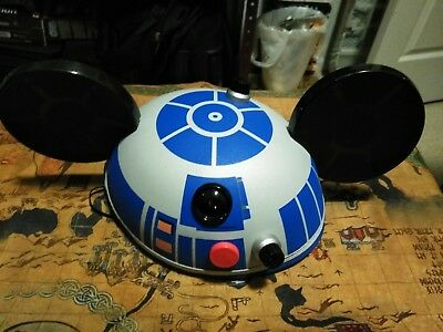 R2D2 Disney Hat With Mickey Mouse Ears Official Star Wars