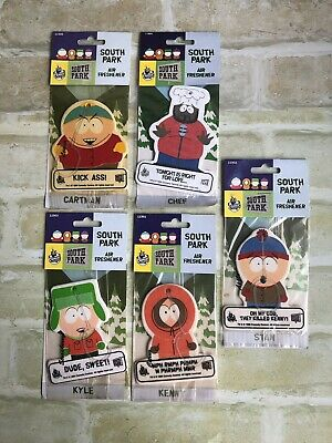 South Park - CARTMAN - 1999 - Air Freshener - NEW - For Display Purposes Only