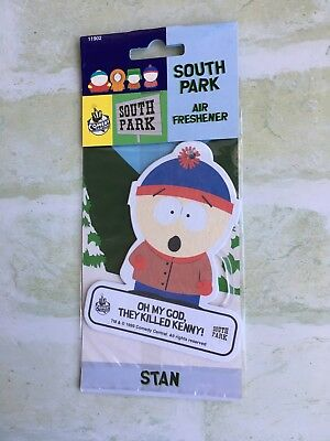 South Park - STAN - 1999 - Air Freshener - NEW - For Display Purposes Only