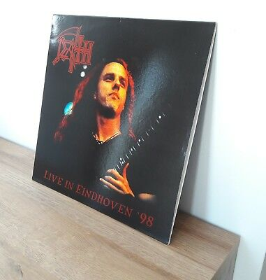 Death live in Eindhoven 98 LP vinyl Metal Rar selten