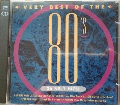 Very Best of the 80's (2 CDs) 36 Nr. 1 Hits