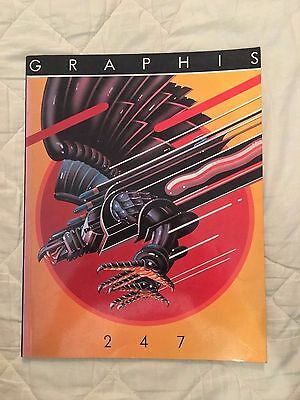 Graphis magazine Issue 247  **RARE**  **OUT OF PRINT**