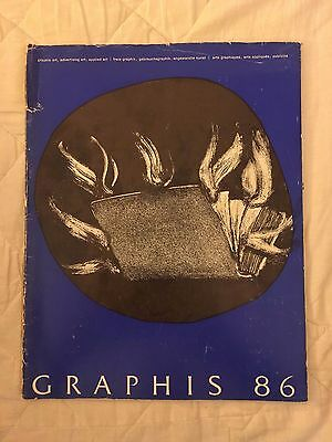 Graphis magazine Issue 86  **EXTREMELY RARE**  **OUT OF PRINT**