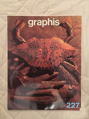Graphis magazine Issue 227  **RARE**  **OUT OF PRINT**