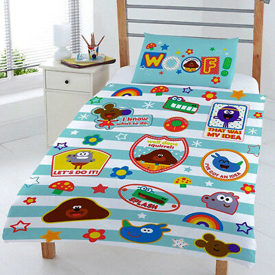 Official Licensed Product Hey Duggee Woof Junior Duvet Set Reversible Gift