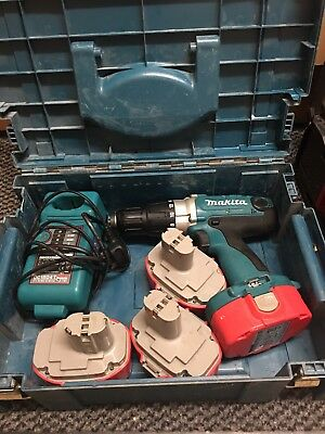 Makita Drill plus 4*battery and charger
