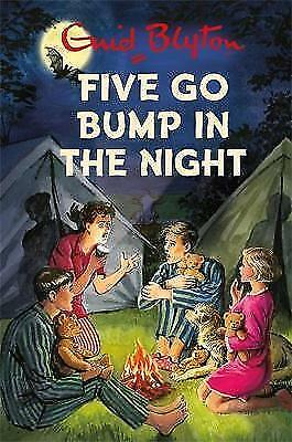 Five Go Bump in the Night by Bruno Vincent (Hardback, 2017)