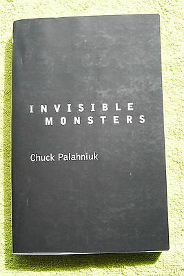 INVISIBLE MONSTERS. SIGNED Uncorrected Proof Ed. Chuck Palahniuk. Perfect book.