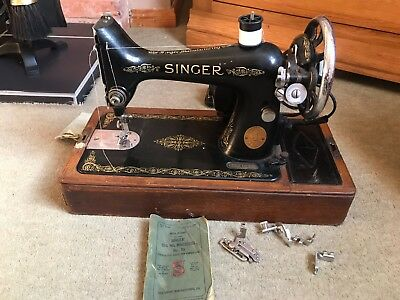 Vintage Singer Sewing Machine 1950s Electrical