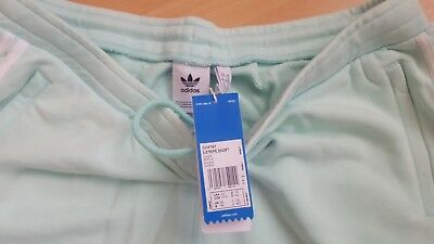 Adidas Originals 3-Stripe Jersey Short in XXL Farbe: Hellgrün