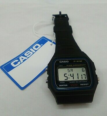 Reloj Casio F-91W-1DG Unisex Digital