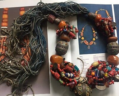 Berber Necklace  Tamegroute Draa Valley  Morocco