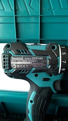 Makita DDF480 Brushless LXT 18V Drill Driver Bare Body only