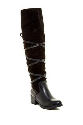 a0ea2a46825 Women s black boots over the knee tall boot Sugar Vale boot Size 8 New In  Box