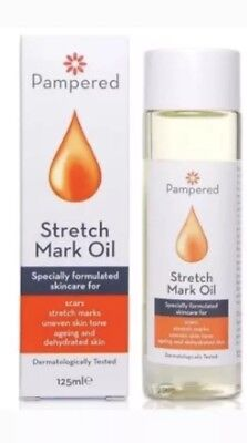 Stretch Mark Oil, Formulated for Scars, Stretch marks, Ageing 125ml