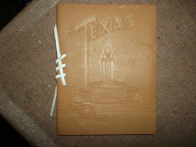 Collectible Vintage Graduation Invitation - University Of Texas Class Of 1946