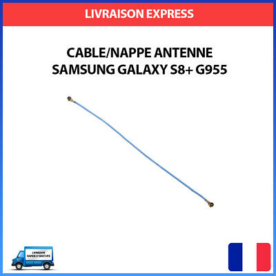 Nappe Cable Antenne Coaxial Reseau Fil WIFI Samsung Galaxy S8 Plus SM-G955F