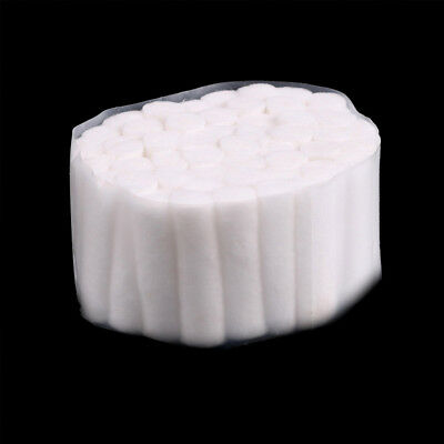 50 Pcs Dental Disposable High Absorbent Cotton Fibers Soft Rolls Pliable UP