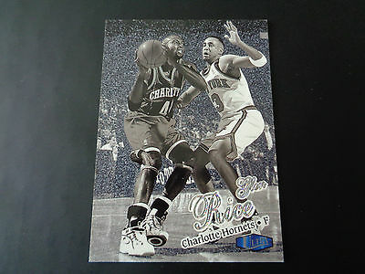 Fleer Ultra 1997-98 Platinum Medallion #21 Glen Rice 60/100