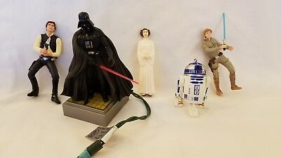 5 Star Wars Hallmark Keepsake Ornaments