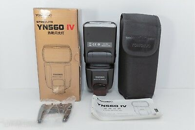 BARELY USED YONGNUO YN560 IV Universal Speedlite Flash Sony Canon Nikon US