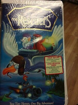The Rescuers (VHS, 1998 Clam Shell)(Masterpiece Collection)