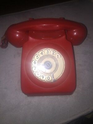Vintage bt phone 8746g Red