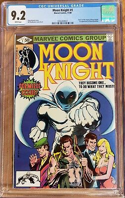 Moon Knight #1 1980 Marvel Comics Cgc 9.2