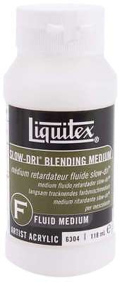 Liquitex Slow-Dri Blending Acrylic Fluid Medium 4oz 094376931457