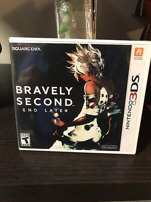 Bravely Second: End Layer (Nintendo 3DS, 2016) Brand New Never Opened! RPG