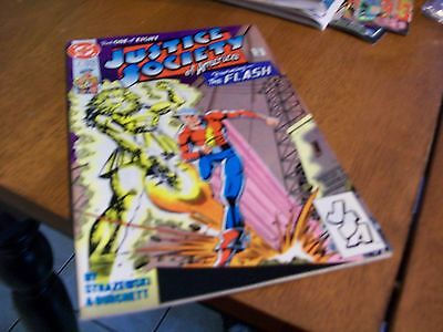 The Justice Society Of America #1 Part One Of Eight Dc Comic Book 1991