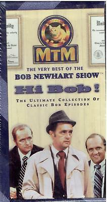 The Very Best Of The Bob Newhart Show, 6 Episodes, Brand New, VHS, Cost $21