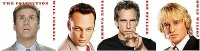 ben STILLER owen WILSON vince VAUGHN will FERRELL 16 movie collection