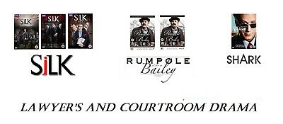 Shark Silk 1 2 3 Rumpole of the Bailey 1 2 3 4 5 6 7 Lawyers and Courtroom Drama