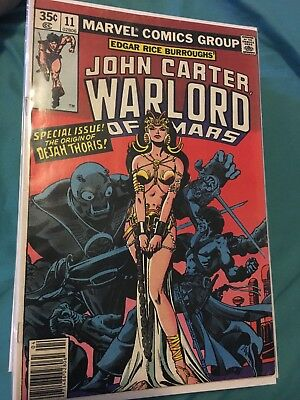 John Carter Warlord of Mars #11 (HARD TO FIND) (RARE)
