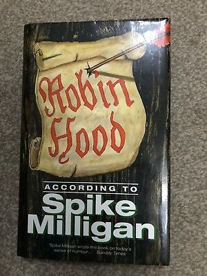 SIGNED SPIKE MILLIGAN Robin Hood According To Spike Milligan 1/1 HBK The Goons