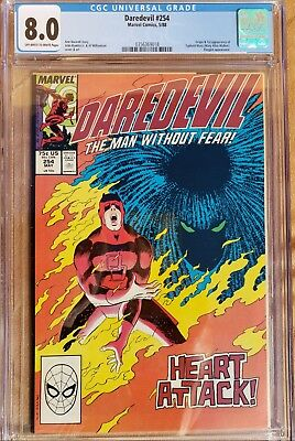 Daredevil #254 CGC 8.0 (Origin & 1st Appearance of Typhoid Mary)