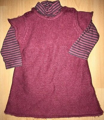 Baby girls pink outfit for 0-3 months from Miracle Of Love - excellent cond