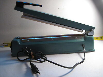 TABLETOP IMPULSE HEAT SEALER 12 Inches NEW $123 ULINE USED WORKS GREAT F-300