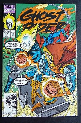 Ghost Rider v3 #17 - 1991 Marvel Comics - NM- NM Near Mint - Spider-Man Texeira
